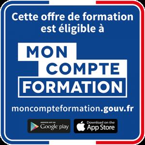 moncompteformation.gouv.fr – disponible sur Google Play et sur l'App Store Apple